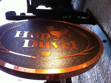 HopDuvel's sign