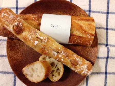 トツゼンベーカーズキッチンのナンバリング付きバゲット